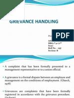 Grievance Hadling