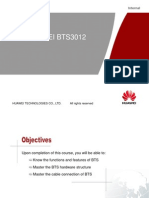 GSM HUAWEI BTS3012 Hardware Structure
