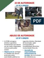 Abuso de Autoridade.13