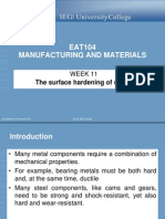 Week 11 the Surface Hardening of Steels(NF)