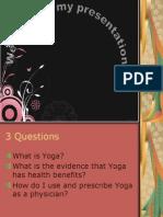 Yoga Meditation Medicine