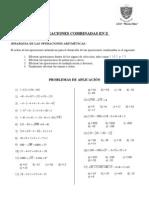 CAPÍTULO 1 - Operaciones Combinadas en Z
