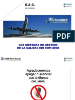 TRANSBER - Charla Sistemas ISO 9001 - Rev 5