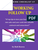 45 Powerful Networking Follow Up Tips