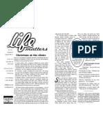 Life Matters 81 Print