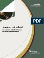 Amparo y Residualidad - Abad, Samuel - DJ 2013.