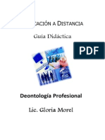 Deontologia ProfesionaI - 2do Sem - Unidad I