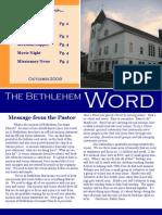 BCC Newsletter Oct 09