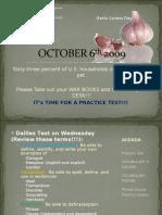 October 6th 2009