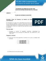 rta Actividad de Aprendizaje unidad 2 Clases de Sistemas de Gestión1