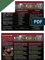 Brochure Orquesta La Corte