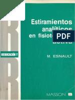 M. Esnault - Estiramientos analíticos en fisioterapia activa