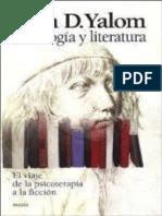 Psicologia y Literatura Psicolo - Irvin Yalom