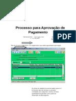 Processo de Aprovação de pagamento