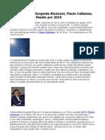 Energia, Terna, Sorgente Rizziconi, Flavio Cattaneo, completamento fissato per 2015