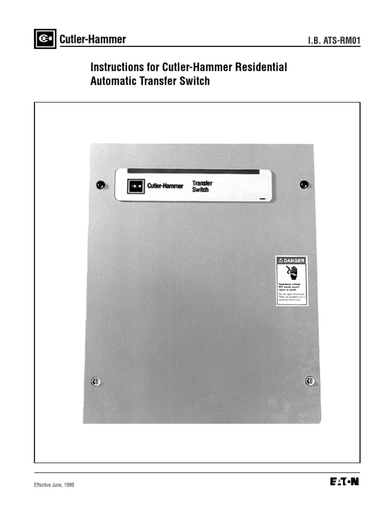 Cutler hammer residential ats switch manual switch electrical cutler hammer residential ats switch manual switch electrical wiring sciox Choice Image