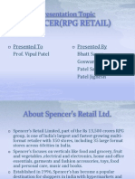 RPG Retail Ppt