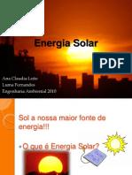 Energia Solar apresentação