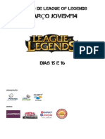 Regulamento do Torneio de League of Legends Março Jovem'14