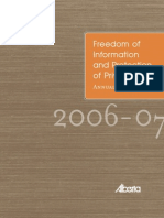 FOIP Annual Report 2006-07