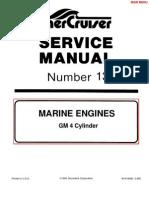 Mercruiser Manual GM 4 Cylinder