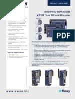 Ewon Flexy Industrial m2m Router