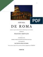 Bertolini - Historia de Roma III