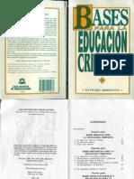 Bases Para La Educacion Cristiana Hayward Armstrong