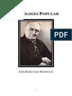 Jose Maria Cardenal Caro Rodriguez - Sociologia Popular
