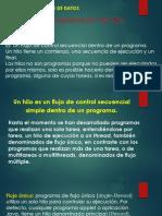 Programacion de Hilos Estructura de Datos
