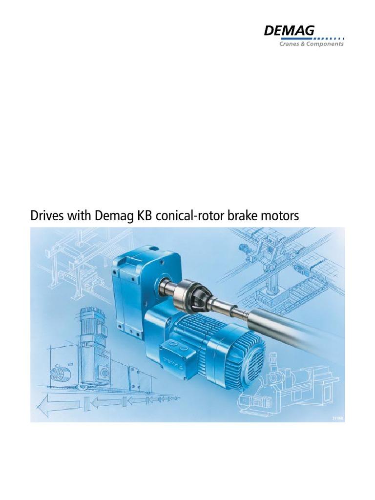 DEMAG_1 | Transmission (Mechanics) | Electric Motor