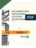 R-003 Instalaciones Electricas