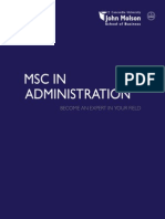 Jmsb Msc Brochure 2012