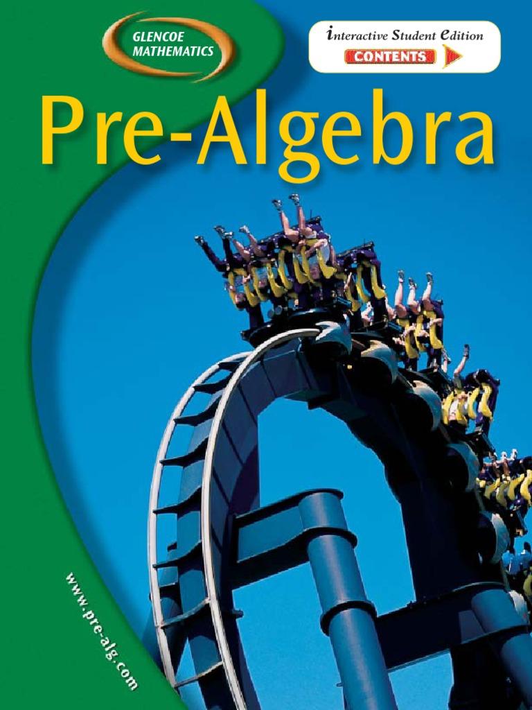 Pre-Algebra, Skills Practice Workbook, 97 worksheets (MERRILL PRE ...