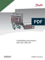 Controlador de Temperatura Danfoss EKC 201