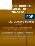 Derecho Procesal Individual Del Trabajo Primer Envio