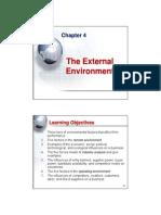 Chap004- Chap004-The External Environment [Compatibility Mode]