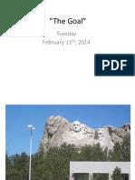 The goal powerpoint