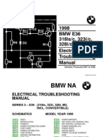 1998 BMW 318is-c - 323i-c - 328i-c - M3-c Electrical Troubleshooting Manual