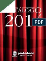 CATÁLOGO 2014 - ACTUALIZADO HASTA FEBRERO