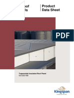 KS1000 RW Panel UK Roof Poduct Data Sheet