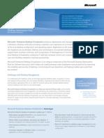 Enterprise Desktop Virtualization