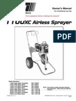 1100 XC Airless Sprayer