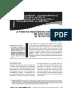 La potestad sancionadora administrativa del OEFA como mecanismo de protección ambiental