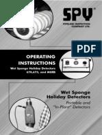Wet Sponge Manual