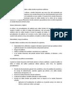 6250 Guía de auditoría aplicable a saldos iniciales en primeras auditorias
