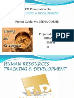 Human Resources Training & Development