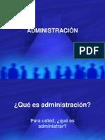 Clase Administracion