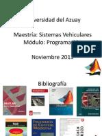 Maestria Sistemas Vehiculares Sesion 3