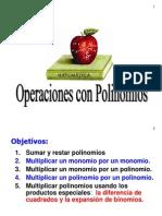 1.05 Operaciones Con Polinomios